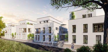 Penthouse mit Dachterrasse – vermietet